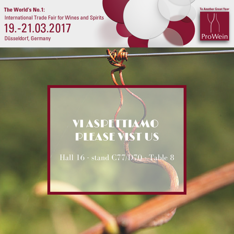 Terracruda goes to ProWein 2017