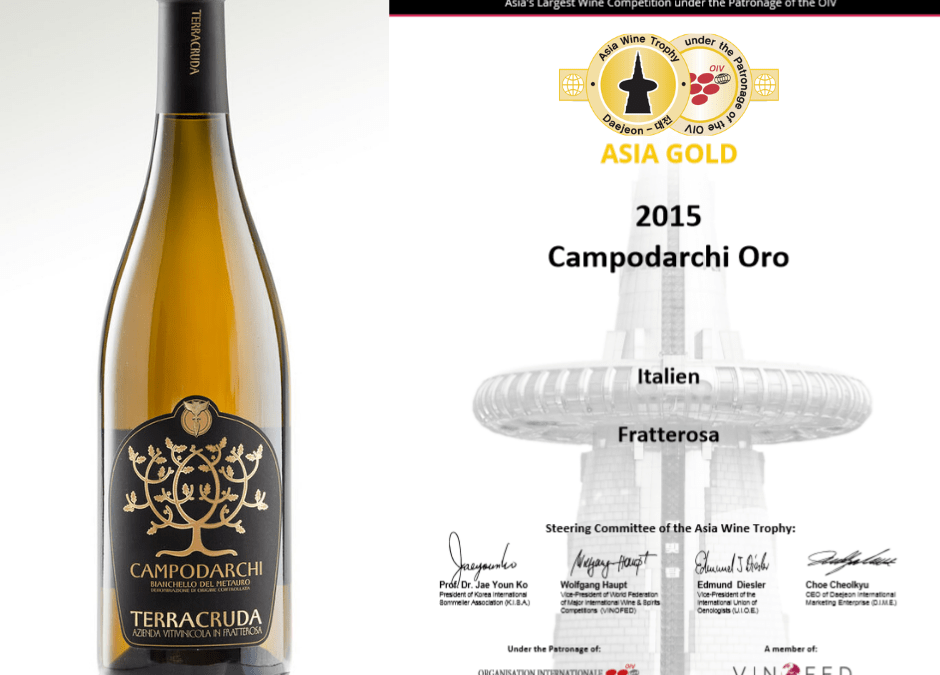 Campodarchi Oro … It's Gold again!